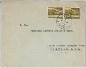 75531  - TURKEY - POSTAL HISTORY -   COVER to USA 1945