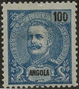Angola, Scott #52, Unused, Hinged