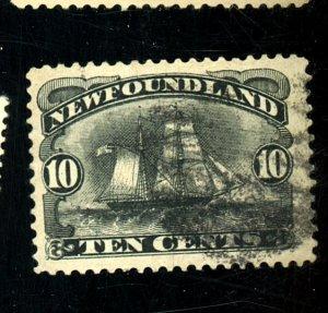 NEWFOUNDLAND 59 USED VF THIN Cat $68