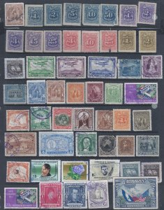 SALVADOR 53 USED STAMPS A A VERY LOW PRICE!