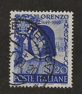 ITALY SC# 523  VF/U