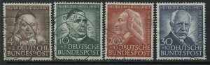 Germany Semi-Postals set of 4 to 30 + 10 pf used