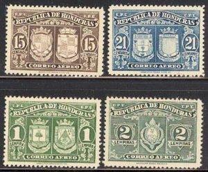 Honduras 1946 Coats of Arms set Sc# C155-62 NH