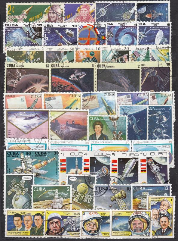 Cuba - 48 Space stamp lot  # 6 (1697)
