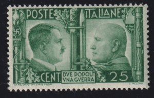 Italy 415 Adolf Hitler and Benito Mussolini 1941