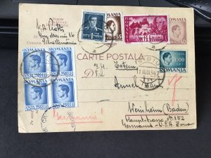 Romania 1946  postal stamps card Ref R28874