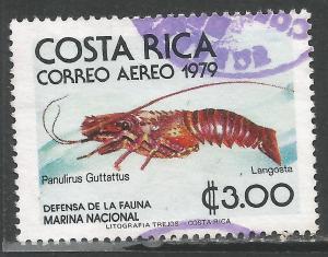 COSTA RICA C745 VFU MARINE FAUNA O59-2