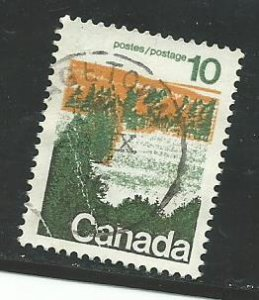 Can #594-598   -2  used 1972 PD