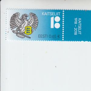 2018 Estonia Defense League  (Scott 859) mnh