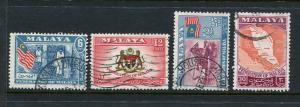 Malaya #80-3 Used