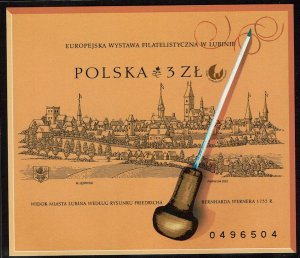 Poland #3602 Souvenir/Mini Sheet Imperf MNH- European Philatelic Exhibit (2001)