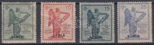 Italian Libya stamp Veneto region set Hinged 1922 Mi 45-48 WS152234