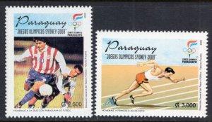 Paraguay 2638-2639 MNH VF