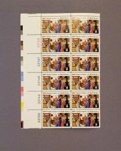 1468, Mail Oder, Plate Block of 12, Mint OGNH, CV $8.00