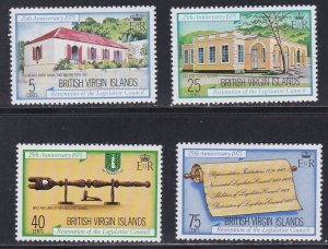 Virgin Islands # 301-304, Legislative Council 25th Anniversary, NH, 1/2 Cat.