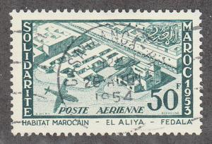 French Morocco - 1954 - SC C50 - Used - High value - CDS