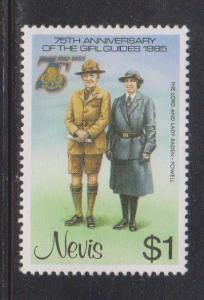NEVIS Scott # 425 MH  - Lord & Lady Baden-Powell
