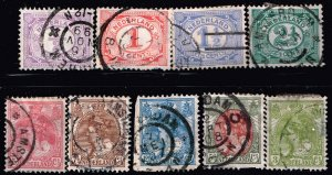 NETHERLANDS STAMP USED STAMPS COLLECTON LOT #4