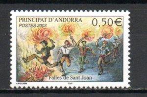 Andorra - French 571 MNH