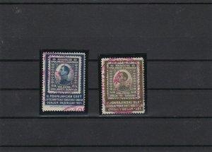 Yugoslavia 1921 Pokrajinsk Sokol Slet Stamp Collars Ref 31160