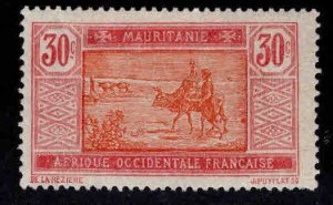 Mauritania Scott 31 MH* stamp