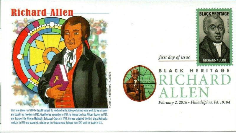 Graebner Chapter AFDCS 5056 Richard Allen DCP 1st Black Methodist Ordained