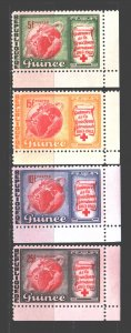 Guinea. 1963. 204-7. Red Cross. MNH.