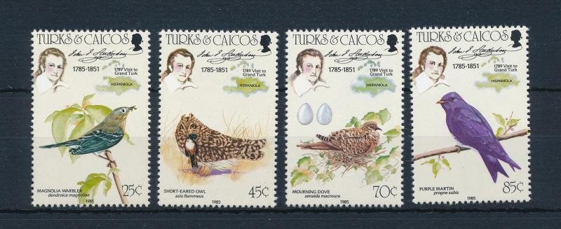 [52955] Turks and Caicos Islands 1985 Birds Vögel Oiseaux Ucelli  MNH
