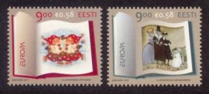 Estonia Sc# 643-4 MNH Europa 2010