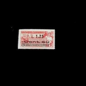 SAN MARINO, 1927, SPECIAL DELIVERY OVERPRINT SINGLE, MH, NICE! LQQK!