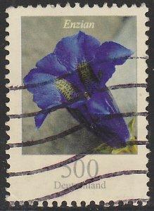 Germany, Used Flower Definitive, Sc. no. 2415, 500c hi value
