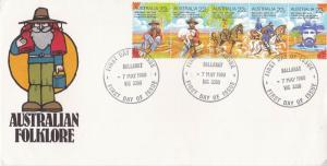 Australia 1980 Australian Folklore FDC Unadressed VGC