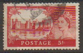 Great Britain SG 537 Used Waterlow printing
