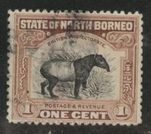 North Borneo Scott 167 used stamp
