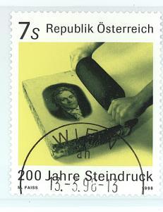 Austria 1998  Scott #1749 used
