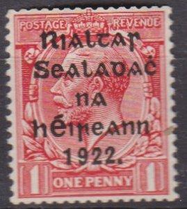 Ireland 1922 Scott 20 coil MNH