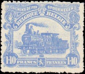 Belgium #Q61-Q80, Complete Set(20), 1916, Trains, Used