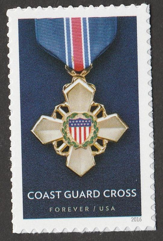 US 5068 Service Cross Medals Coast Guard forever single MNH