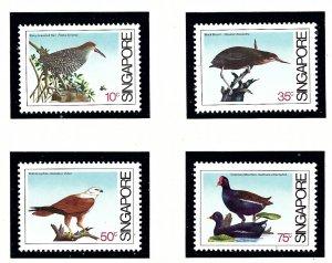 Singapore 434-37 MNH 1984 Coastal Birds   (KA)