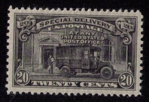 US Sc #E14 MLH (1925) 20c Post Office Mail Truck VF/XF