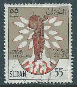 Sudan, Sc #129, 55m Used