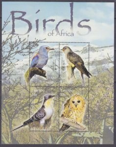 2004 Lesotho 1881-1884KL Birds 10,00 €