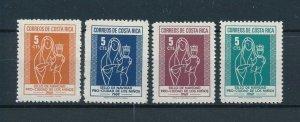 [104155] Costa Rica 1969 Postal tax children's village Christmas Madonna  MNH
