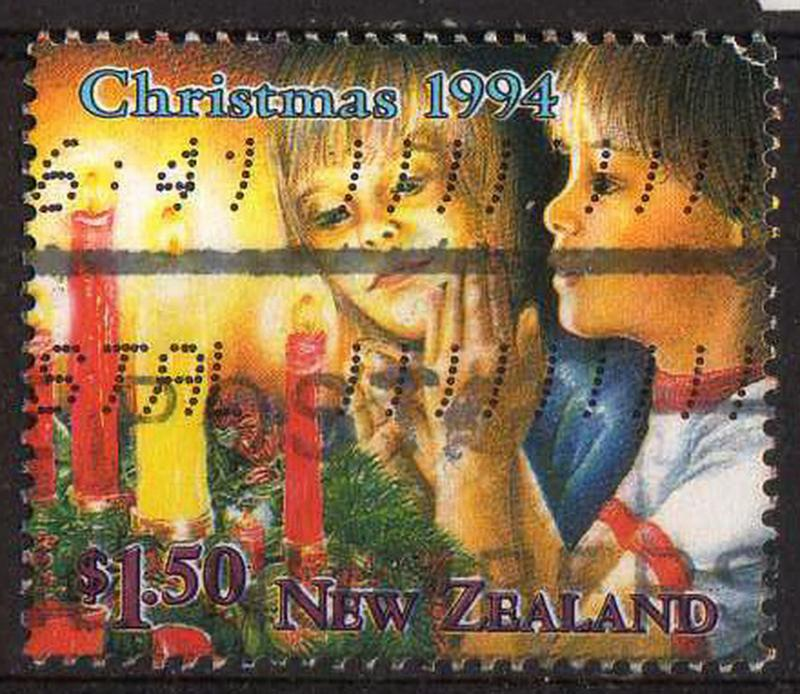 New Zealand - #1241 - Christmas - used
