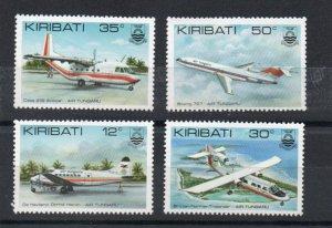 Kiribati 400-403 MNH