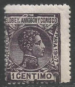 ELOBEY, ANNOBON Y CORISCO 39 MNH Q115-9