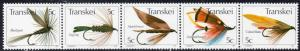 Transkei - 1980 Fishing Flies (1st series) Set MNH** SG 65a
