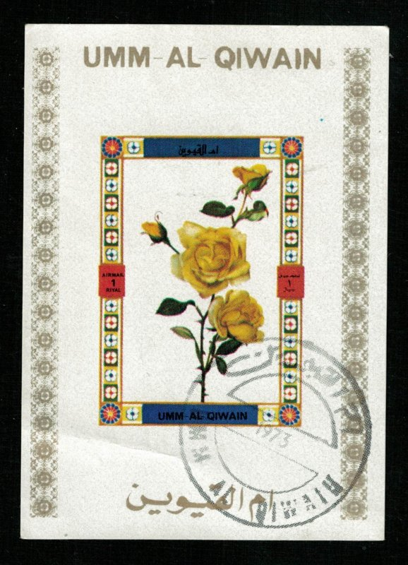 Flowers, 1 Riyal, Block  (T-6007)