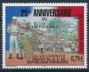 Mayotte 2001 #151 MNH. French Legion