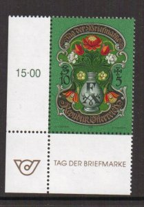 Austria    #B361  MNH  1995   stamp day   letters F and A